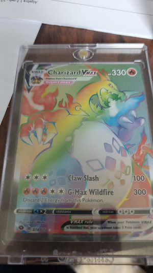 Pokémon champions path charizard v max secret rare for Sale in Brainerd, MN