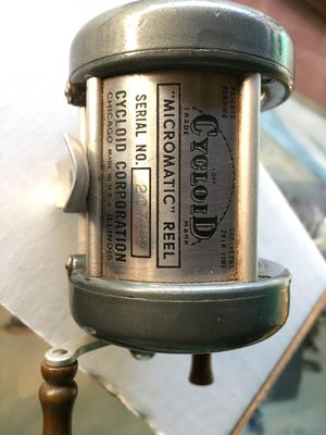 Cycloid micromatic reel vintage fishing for Sale in Fresno, CA