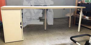 IKEA cabinet, desk top and 3 legs for Sale in Chula Vista, CA