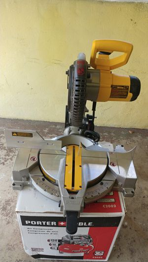 "10"" miter saw clean almost new for Sale in Miami Gardens, FL"