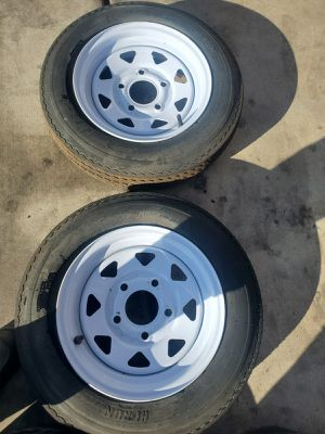 Trailer tire $20 each one size 5.70-8 for Sale in North Las Vegas, NV