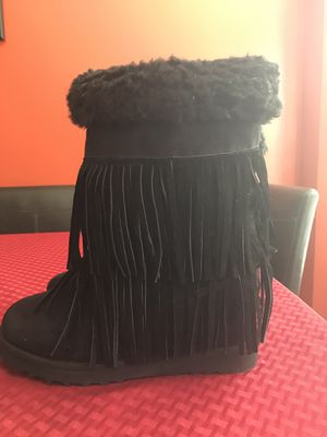 Fringed boots for Sale in Raleigh, NC