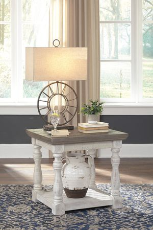 Ashley Furniture Gray/White End Table for Sale in Santa Ana, CA