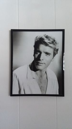 Burt Lancaster 8 x 10 photo in metal and glass hanging frame for Sale in Seal Beach, CA