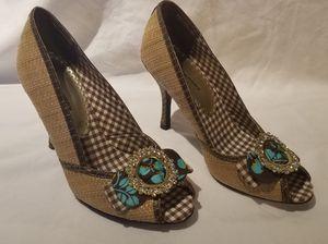 Women's Tan Heels- Size 7 for Sale in Federal Way, WA