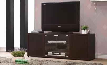 Rectangular TV Console With Magnetic-Push Doors Cappuccino for Sale in Arlington,  VA