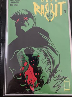 Image comic book lot Dead Rabbit #1&2 with 2signed books for Sale in Upland, CA