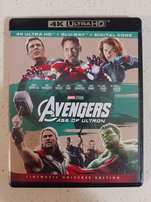 AVENGERS AGE OF ULTRON (4K + BLU RAY) ***SEE OTHER POSTS*** for Sale in El Cajon, CA
