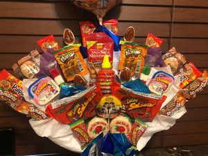Mexican candy bouquet for Sale in Pumpkin Center, CA