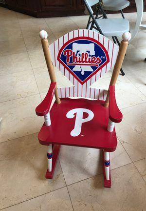 Philadelphia Eagles child rocking chair for Sale in Margate, FL