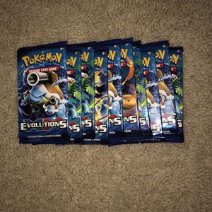 10x Pokémon xy Evolution Booster Pack for Sale in Damascus, OR