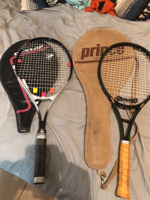 2 tennis Rackets-great condition! for Sale in Phoenix, AZ