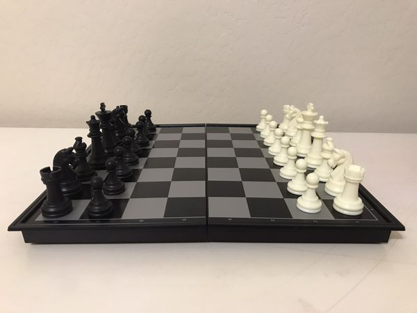 Chess and Checkers Board Game