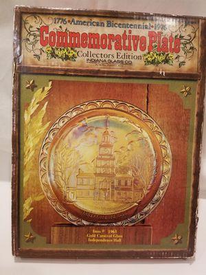 1776 *Amrerican Bicentennial*1976 Commemorative plate for Sale in Martinsburg, WV