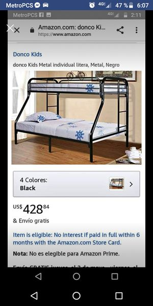 Bunk bed for Sale in North Charleston, SC