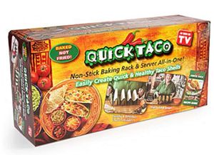 Quick Taco Non-stick Baking Rack and Server for Sale in Las Vegas, NV