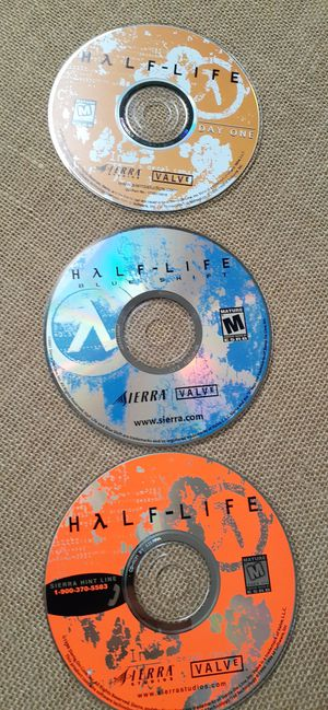 $15 Half - Life Day One Valve Blue Shift PC CD-Rom for Sale in Hemet, CA
