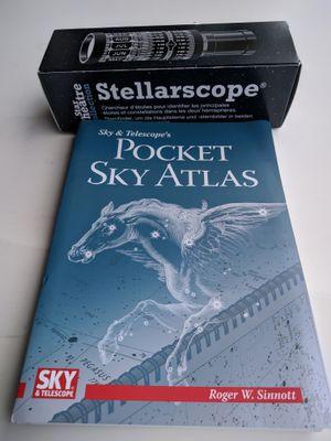 Stellarscope & Sky Atlas Book for Sale in Hanover, MD