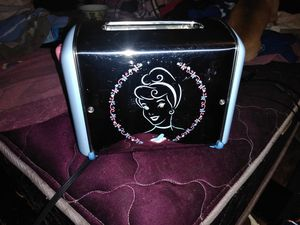 Disney Cinderella toaster plays music for Sale in South Gate, CA