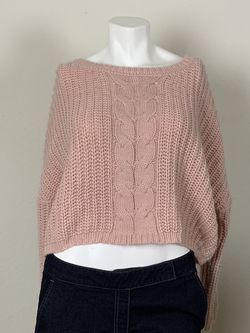 Ladies oversized pink sweater sz Small for Sale in Austin,  TX