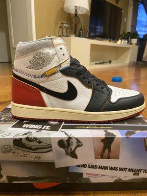 Jordan 1 x Union Black toe. Size 13 for Sale in Playa del Rey, CA