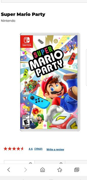 Super Mario Party Nintendo Switch LIKE NEW for SALE or TRADE! for Sale in San Diego, CA