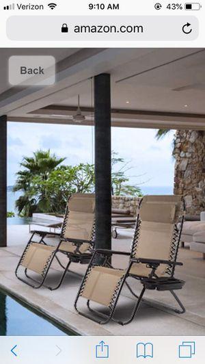 Zero Gravity Chaise Lounger Chair - Comfort X 100 for Sale in Alexandria, VA