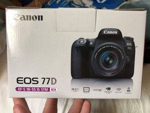Canon EOS 77D DSLR Camera w/ 18-55mm Brand New for Sale in Versailles, KY