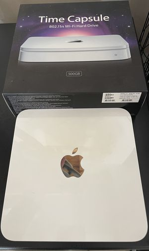 Apple Time Capsule 802.11n WiFi Router + 500gb Hard Drive for Sale in Charlotte, NC
