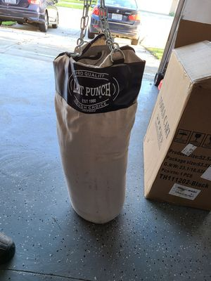 Punching bag for Sale in Durham, NC