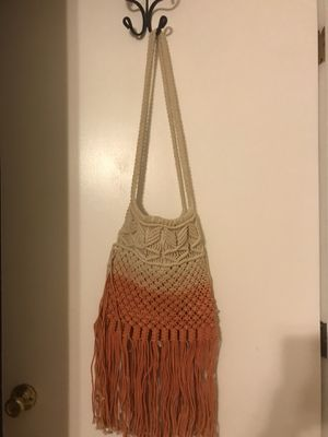 Vintage Free People Tie Dye Fringe Knot bag for Sale in Escondido, CA