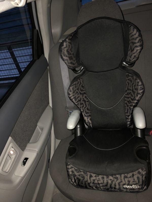 Evenflo big kid sport booster car seat.