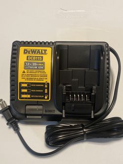 Brand New Dewalt DCB115 12v/20v Max Lithium Ion Battery Charger for Sale in Carson,  CA