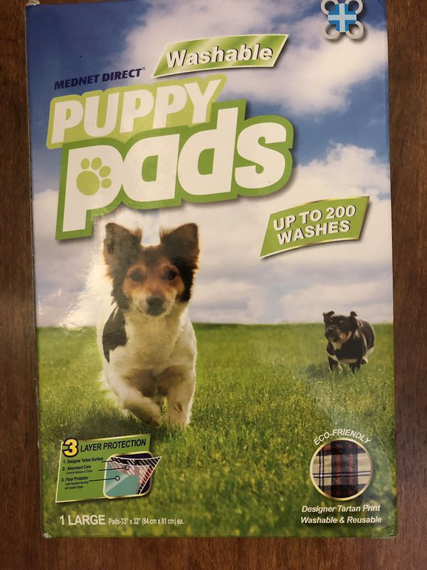 Brand new Washable Puppy Pad, 33-Inch by 32-Inch (pick up only)