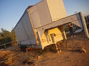 Goose Kneck trailer 20ft. (Cheap) for Sale in Amarillo, TX