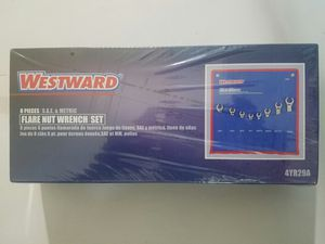 Westward 8 PIECES FLARE NUT WRENCH SET, S.A.E & METRIC 4YR29A for Sale in Lincolnia, VA