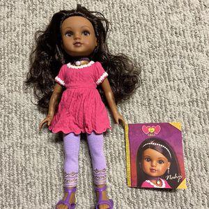 Hearts 4 Girls Doll Name-Nahji for Sale in Tabernacle, NJ