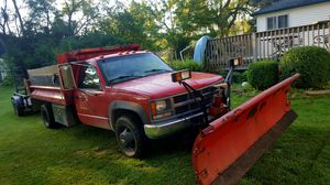 96 Chevy diesel dump truck 2 ayer motor snow plow en trailer 2007 Ready for a hardworking good conditions serious buyer's 9500 for Sale in Zion, IL