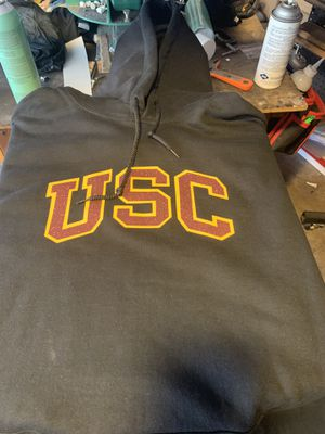 USC glitter print sweater for Sale, used for sale  Santa Fe Springs, CA