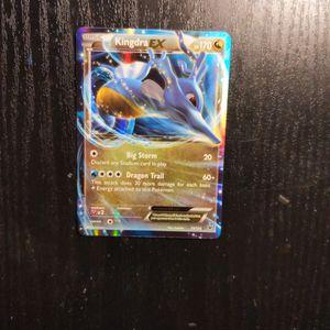 Pokemon Card: Kingdra EX Holo (73/124)* for Sale in Franklin, IN