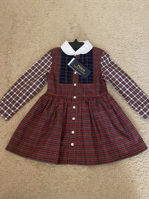 BRAND NEW WITH TAGS POLO BY RALPH LAUREN TODDLER DRESS! for Sale in San Diego, CA