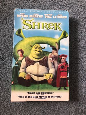 Shrek VHS tape for Sale in Havertown, PA