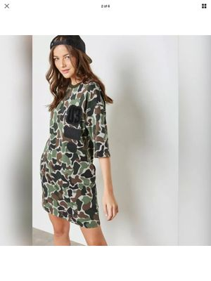 NWT Adidas Camo Dress XS for Sale in Aurora, OH