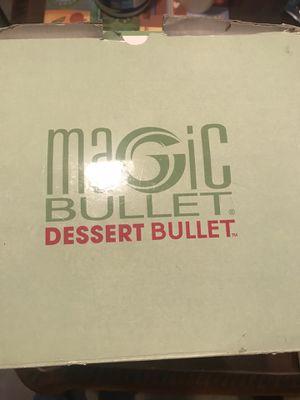 Magic Bullet Dessert Bullet for Sale in Charlotte, NC