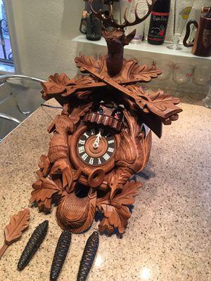 Antique wooden cuco clock for Sale in South El Monte, CA