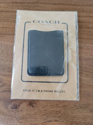 Coach cell phone wallet new for Sale in Chandler, AZ
