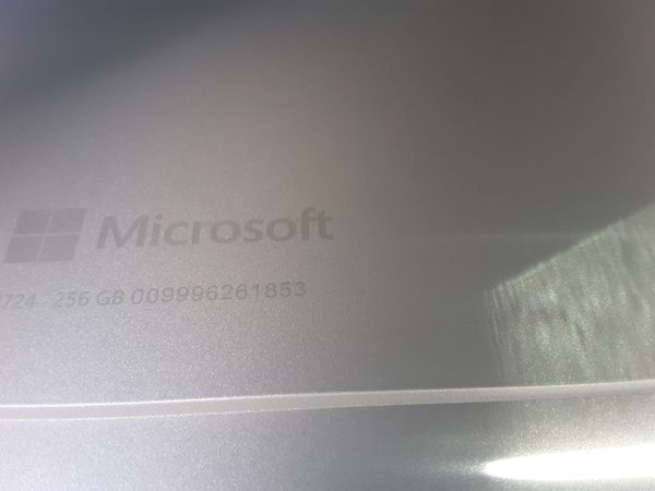 Microsoft Windows Surface Pro 4, 256 gb