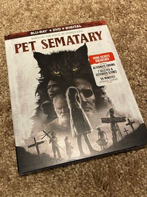 Pet Sematary Bluray for Sale in Sierra Madre, CA