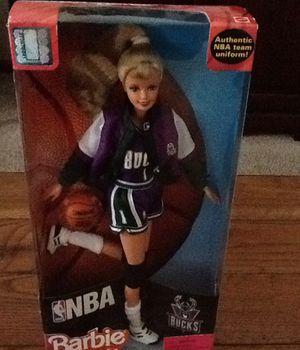 NIB: Barbie NBA Bucks doll for Sale in Chippewa Falls, WI
