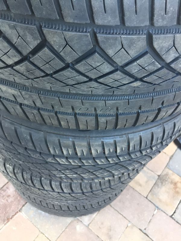continental tires staggered set size 20